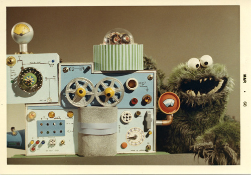 The monster eating a machine on Ed Sullivan, also used for IBM.