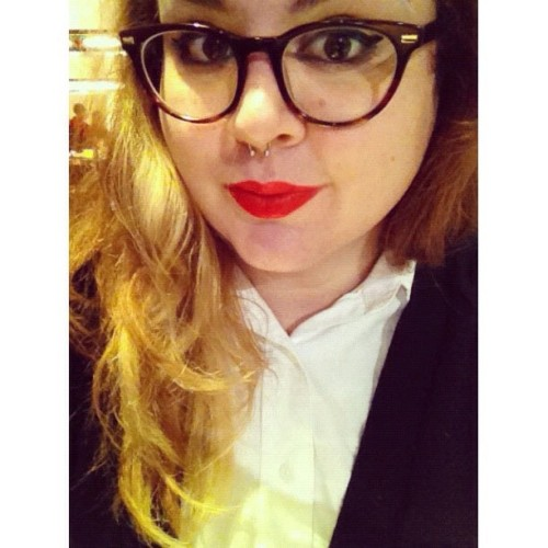 This evening I got my Annie Hall on. (Taken with Instagram)