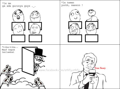 TRUE STORY(by: Luthfiyyah Afanin)