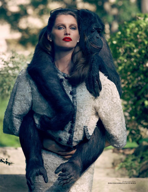 Laetitia Casta | Sean & Seng | Vogue Turkey October 2012 | Schvetlive Barok