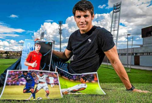 Alvaro Morata during interview for Marca (Octubre 13, 2012). Read (via moratacentral)