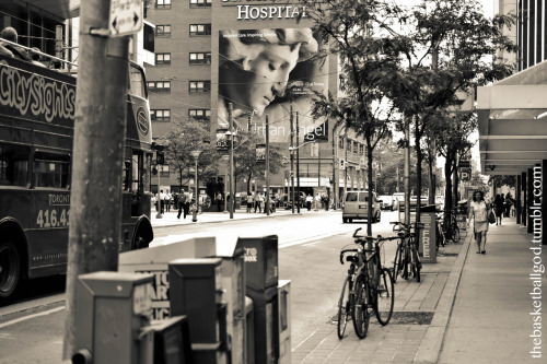 thebasketballgod:  Downtown, Toronto
