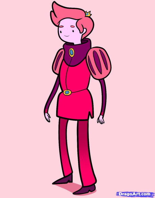 Long time no post look its prince gumball(he is soo cute and he is the gender swap of PB from adventure time)