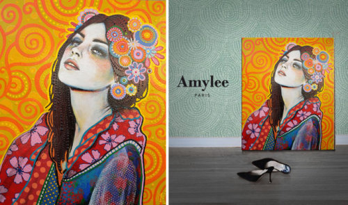 Tableau/Painting by Amylee (Paris) www.amylee.fr /BLOG - www.amyleeartdesign.com /PORTFOLIO