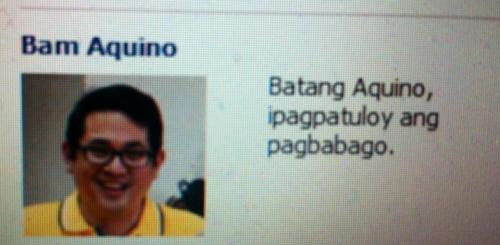 Saw this on my Facebook page. @bamaquino early campaigning or simply online #EpalWatch ??? http://t.co/jGF0gXd4 via @IamChinoX