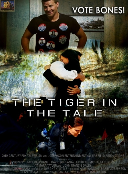 episodes as movie posters | 8x04 The Tiger in the Tale