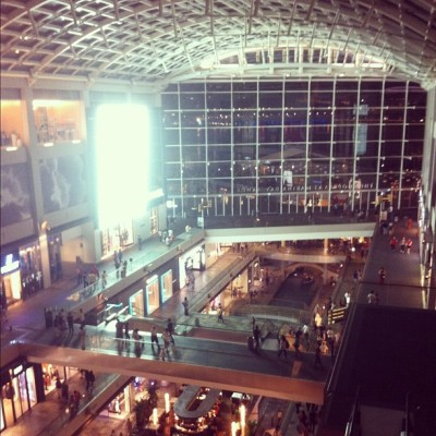 Bird's Eye View (Taken with Instagram at The Shoppes At Marina Bay Sands)