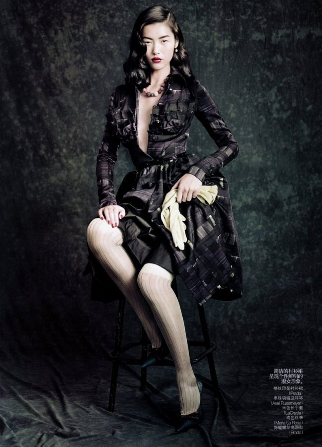 sexyqueen:  (2) Liu Wen for Vogue China