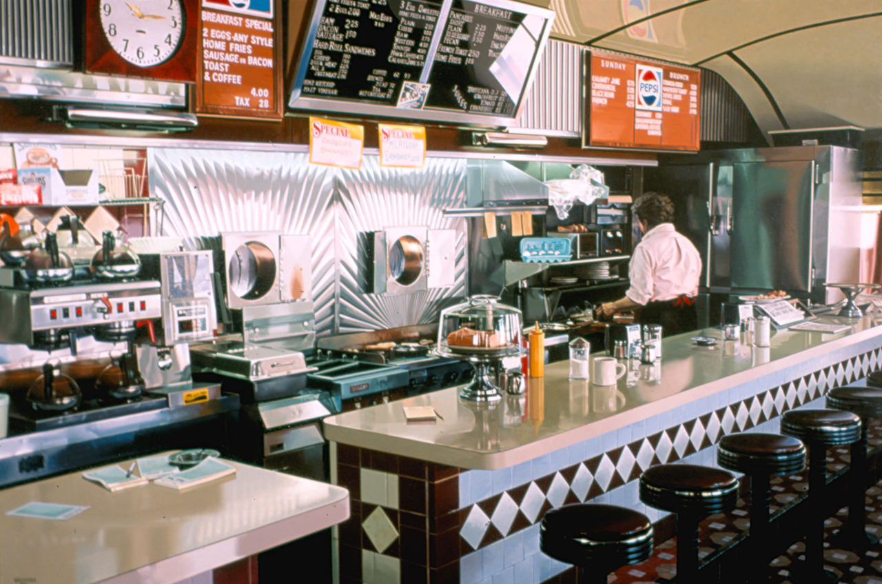 Ralph Goings Miss Albany Diner 1993