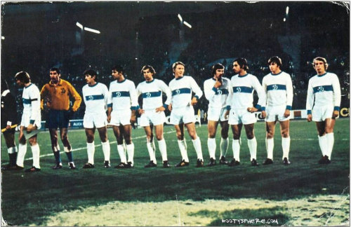 Dynamo Kiev 1970s team line-up - can you name the players?
