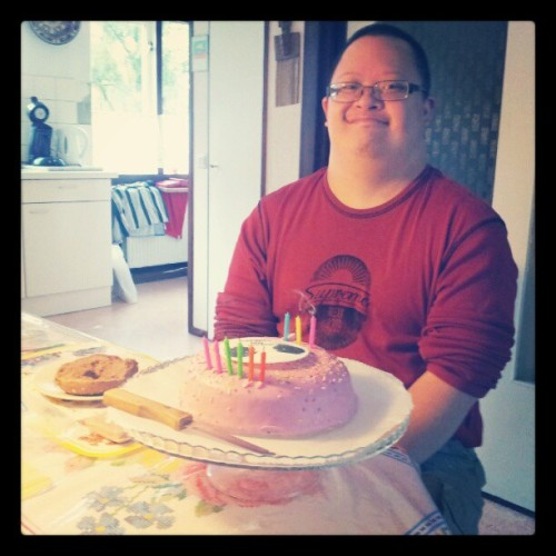 It's Patrick's b'day! yay! (Taken with Instagram)