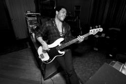 lenny kravitz in the studio