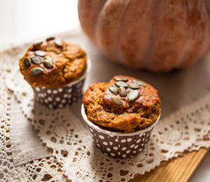 findvegan:  The Best Vegan Pumpkin Muffins from the PPK!