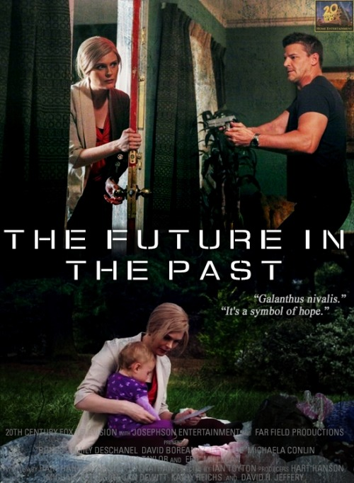 episodes as movie posters | 8x01 The Future in the Past