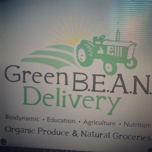 #GreenBeanDelivery #Organic #Delivery #SupportLocalFirst  (Taken with Instagram)