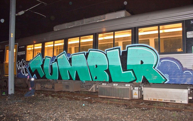 FUK UR TUMBLR! by Graffiti Uploads on Flickr.