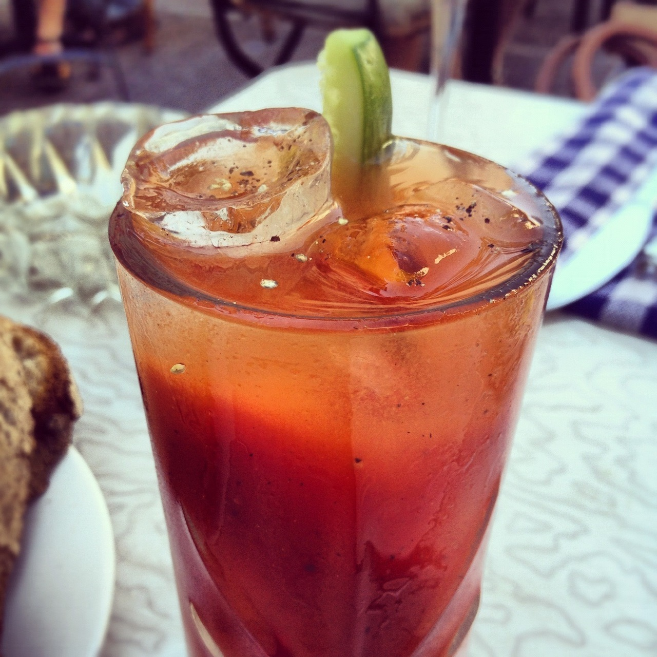 Bloody Mary at Basta