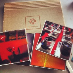 just received my printed instagram photos from @staticpixels! cant wait to put them on my brick wall (Taken with Instagram)