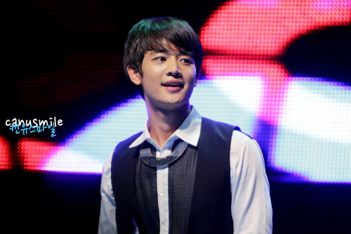 [HQ] 121013 Minho @ The K SHOWW Credit : Can U Smile