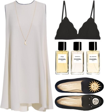 No5 by nazsefik featuring flat shoes ❤ liked on Polyvore