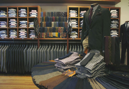 Editor's Pick: Chicago's Haberdash Your new Menswear destination? Sweet home Chicago.
