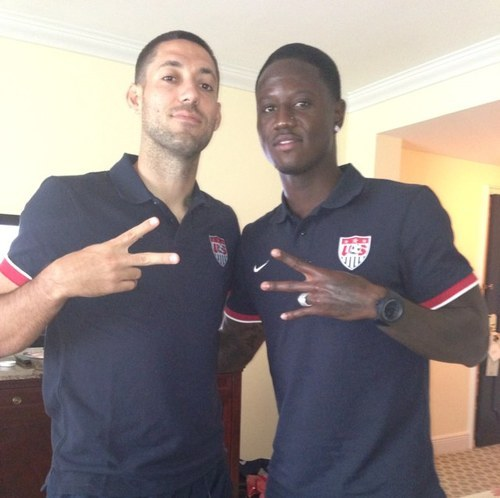 fyeahclintdempsey:  Clint Dempsey and Eddie Johnson