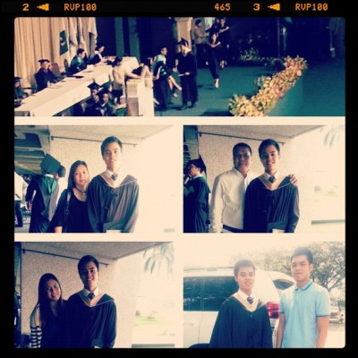 Officially a graduate of DLSU! (Taken with Instagram)
