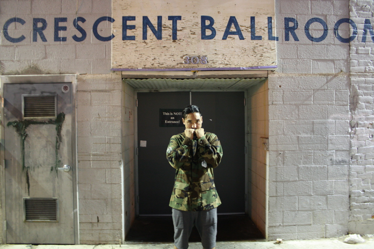 AT THE WORLD FAMOUS CRESCENT BALLROOM- PHOENIX