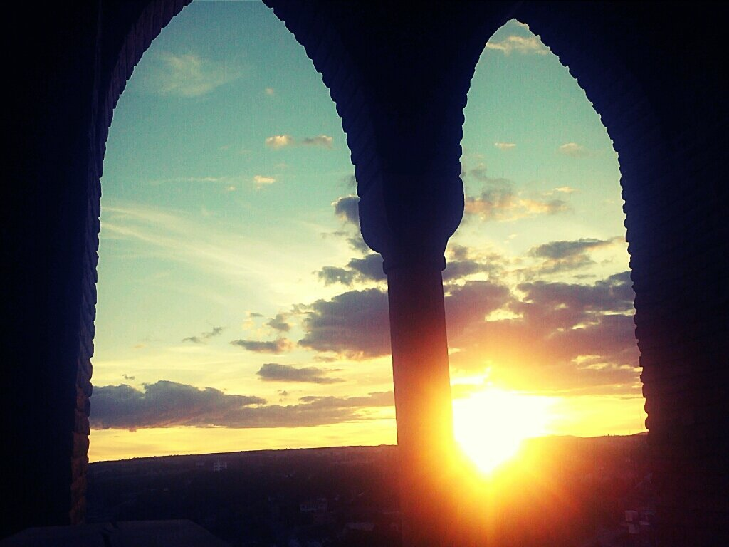 Puesta de sol, Torre Salvador, Teruel (from @lucassevilla on Streamzoo)