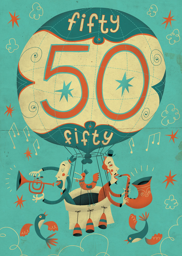 Fifty 50 by Steve Simpson