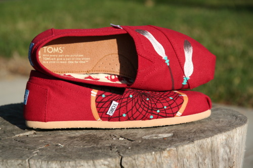 theshoemakerself:  Dreamcatcher Toms 10/13/12