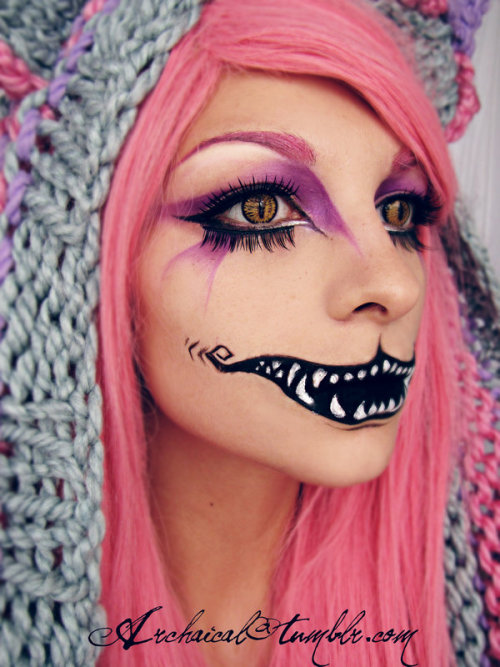 Cheshire make-up by *Archaical