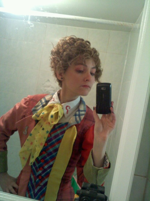 "doctorwho:  Awesome Sixth Doctor cosplay radetzkymarch:  I am the doctor, whether you like it or not.   i literally said ""OH MY GOD"" at my screen because this is the best cosplay EVER"