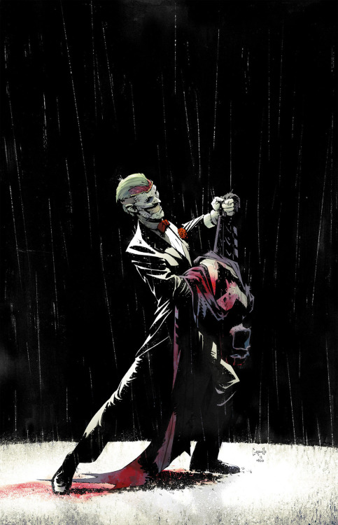 "The Joker: A Death Of The Family // artwork by Greg Capullo (2012) One year ago the Joker tore his own face and left Gotham for a year, Batman and his allies were left wondering what he meant by his actions and we are about to find out in a storyline called ""A Death Of The Family"" running from November to January in all bat-books. The Joker returned with a bang in Batman #13, more vicious and aggressive than ever, killing cops with his bare hands. What's his plan this time? what's he's up to?"