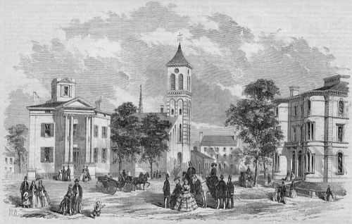 collective-history:  Free and Congress Streets in 1857