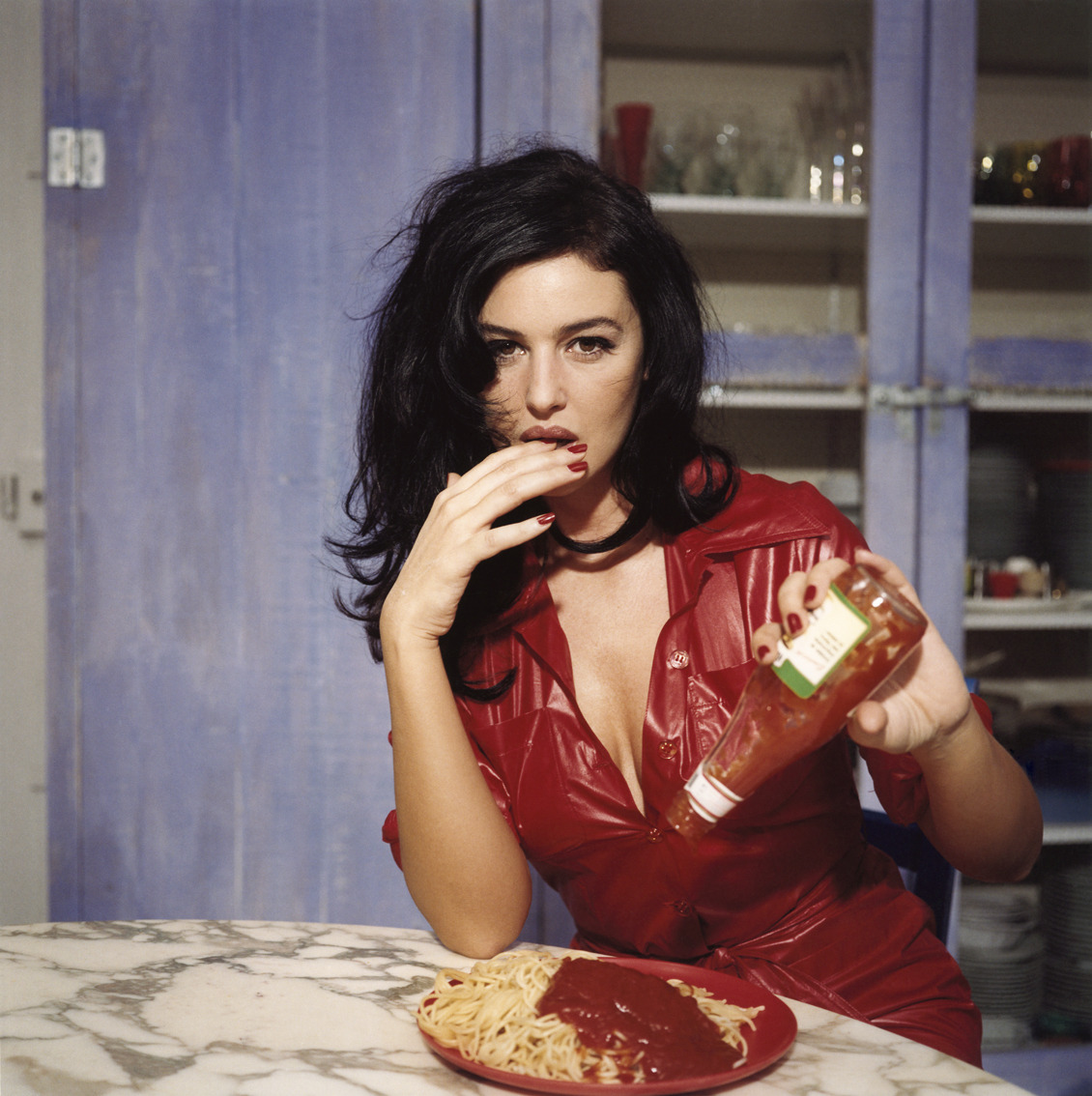 Monica Bellucci, por Bettina Rheims, 1995