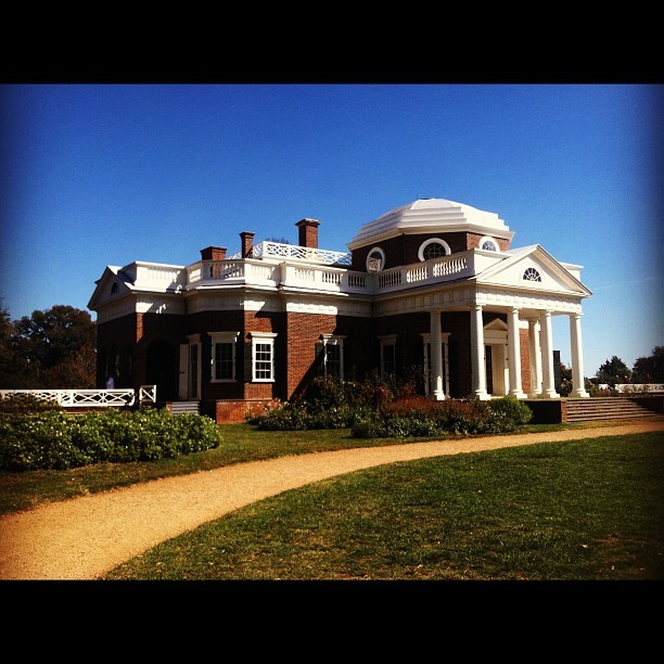 Monticello.  (Taken with Instagram)