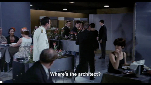 "one of those moments. from ""Playtime"" by Jacques Tati"