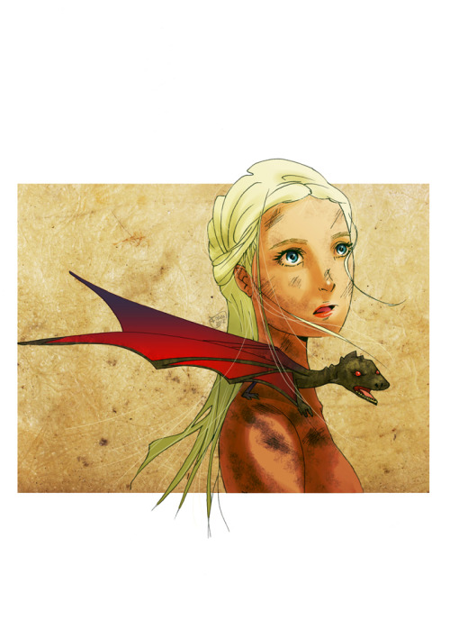 Mother of Dragons by ~Fran85 —-x—- More: | Dragons | Random |
