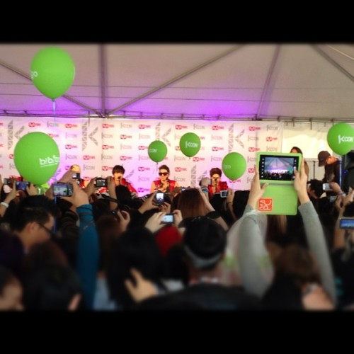 NU'EST #KCON (Taken with Instagram at Verizon Wireless Amphitheatre)