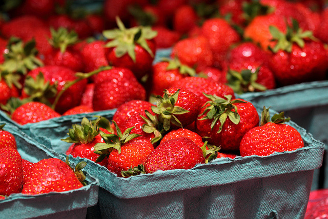 "Fruits that improve skin texture and health Strawberries- Contains an incredible amount of health boosting vitamins and minerals.  Strawberries also contain antioxidants which help to neutralize the free radicals in your body.  Some studies have ranked strawberries as the fruit containing the highest amount of antioxidants with plums ranking just below.   Papaya- Contains antioxidants as well as a special enzyme called papain that can kill dead cells and help with skin impurities.  Consume or apply the the flesh of papaya to your skin.   Banana- Rich in vitamin A, B and E, bananas work well as an anti aging agent.      Lemon (or citrus fruits such as orange or grapefruit)- Contains high levels of Vitamin C which is responsible for collagen formation.  Collagen directly correlates with your skin's elasticity so consuming more Vitamin C will help with sagging skin and wrinkles.  Apple-  ""An apple a day, keeps the doctor away.""  It's true, apples' antioxidant properties help with cell and tissue damage and flavanoids, a type of antioxidant found in apples, also prevent heart disease and stroke. Quercetin present in the skin of apples is a powerful antioxidant, a natural anti-histamine, and anti-inflammatory."