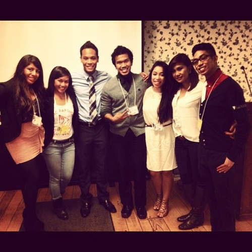 #MAFA E-Board (minus Grace) after the CWAC lunch session! #fact2012 #cwac #mafalove (Taken with Instagram)