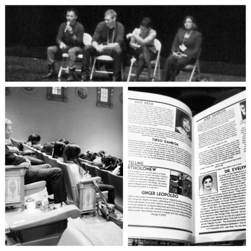 Media & Storytelling - Panel. #fact2012  (Taken with Instagram)
