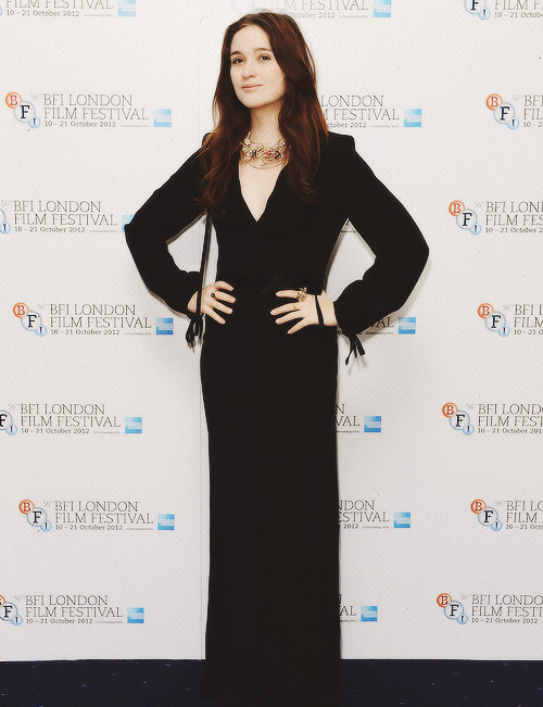 Alice Englert | 'Ginger & Rosa' London Premiere, October 13th (2012)