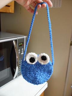 Cookie Monster and Elmo purse patterns