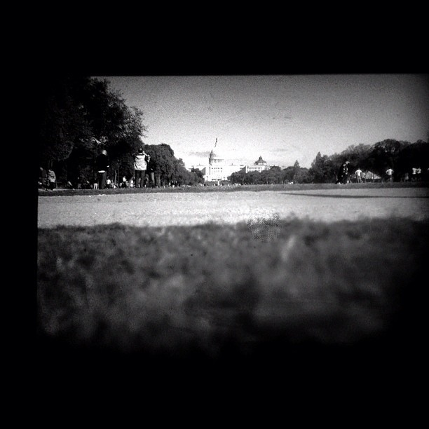 Through the viewfinder of the mighty mighty Pentax #ttv #pentax #dc (Taken with Instagram at Washington Mall)
