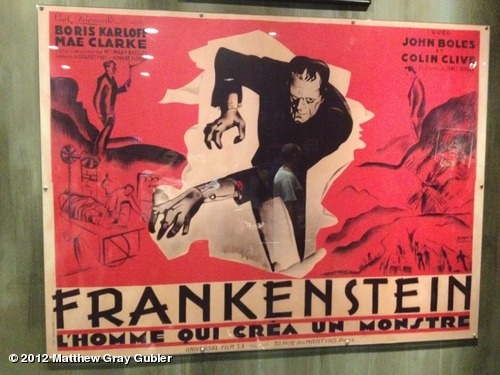 gublernation:  awesome original frankenstein poster from the 1930's View more Matthew Gray Gubler on WhoSay
