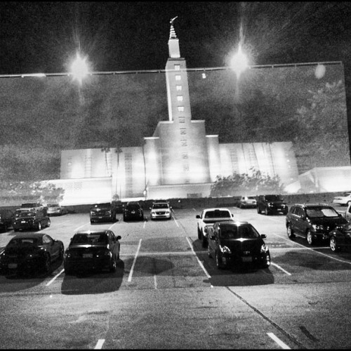 Drive-in Mormon #iphone (Taken with Instagram)