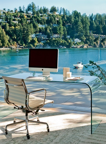 untitled-mag:  Dream home office :)