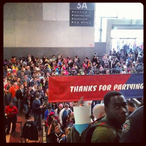 @newyorkcomiccon #nycc (Taken with Instagram)